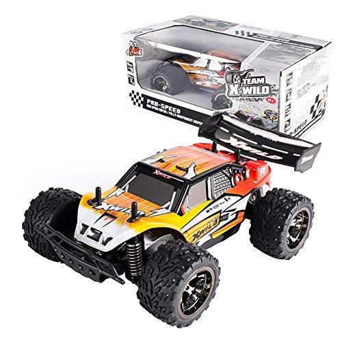 Iwinna Camiones todoterreno de PVC 1:18 – 2.4 GHz HigIwinna Speed Racing Vehículo Juguete RC Anti-Interference Todo Terreno Escalada Crawlers Regalo para Niños Niños