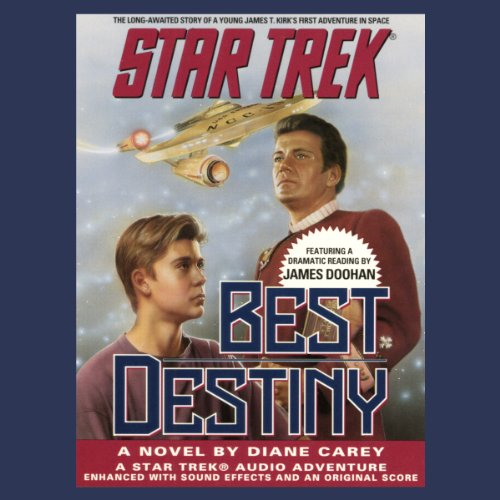 Star Trek: Best Destiny (Adapted) audiobook cover art