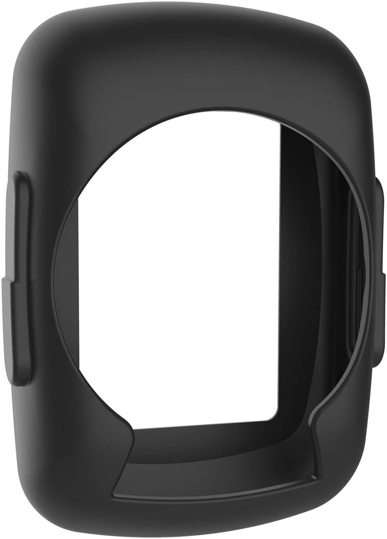 LOKEKE Funda protectora de silicona Carcasa para Garmin Edge 200/500 (negro)