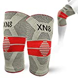 <span class='highlight'>Xn8</span> Knee Support Brace Compression Sleeve for Gym-Running-Squats-<span class='highlight'>Sports</span>-Arthritis-Joint Pain Relief-Ligament Injury-Meniscus Tear(Sold as Pair)