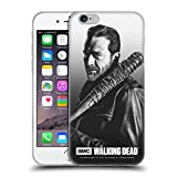 Head Case Designs Licenciado Oficialmente AMC The Walking Dead Negan Retratos filtrados Carcasa de Gel de Silicona Compatible con Apple iPhone 6 / iPhone 6s