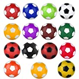 15 Pcs 36mm Foosball Balls Replacement Balls Table Foosball Table Foosball Replacement Balls for Foosball Tabletop Games Multicolor Foosball Accessories Multicolor Official Tabletop Game Balls