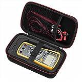 RLSOCO Hard Carrying case for Auto-Ranging Digital Multimeter Neoteck 6000 Counts/BM235/ Tacklife DM01M/Fluke...