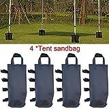 Allowevt 4 STÜCKE Pavillons Gewichte Taschen, Anti-Schlaf-Unterstützung Festzelt Tasche,...