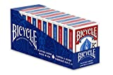 Bicycle Jumbo Playing Cards 12 Pack Red & Blue