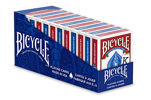 Bicycle Jumbo Playing Cards 12 Pack…