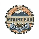 A/X 13cm x 13cm para Mount Fuji Car Sticker Van Personalidad Laptop Calcomanía Camper Silueta Windows