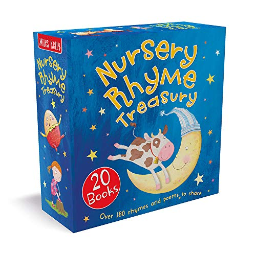 Compare Textbook Prices for Nursery Rhyme Treasury Box Set-This Charming Collection of over 180 Number Rhymes, Nonsense Rhymes and Bedtime Rhymes contains 20 Palm-Sized Picture Books  ISBN 9781786177810 by Miles Kelly