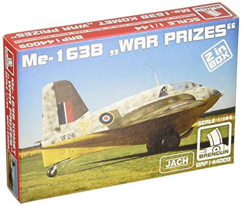 ブレンガン1/144 ドイツ空軍 Me163B コメット 鹵獲品 戦闘機 プラモデル HAUBRP144009