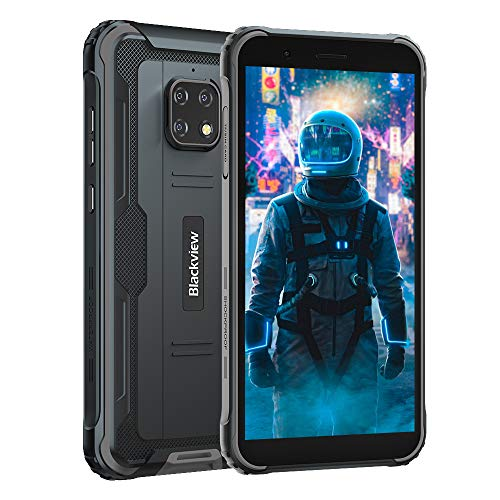 Móvil Resistente 4G, Blackview BV4900 Android 10 Impermeable Smartphone IP68, 5.7