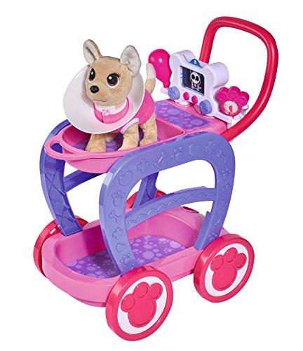 Carrito veterinario Chi Chi Love con perrito y accesorios (S