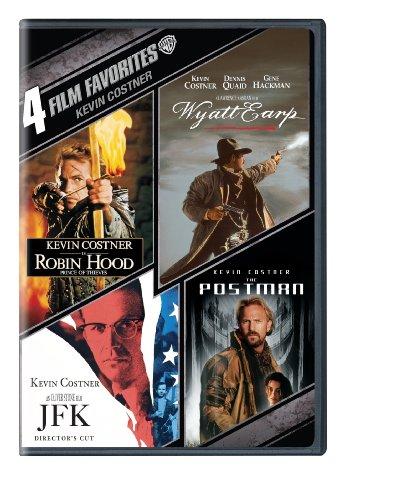 4 Film Favorites: Kevin Costner (Robin Hood: Prince of Thieves, Wyatt Earp, The Postman, JFK)