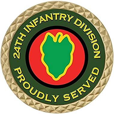 """Freedom Navy-Veteran Gift New Challenge Coin Army 24Th Infantry Military 1.75"""""""