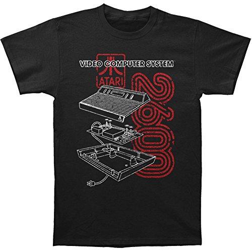 Licensed Atari 2600 Schematic T-Shirt for Men