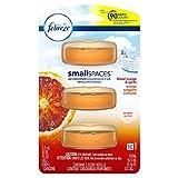Febreze Small Spaces Refill Pack, Blood Orange & Spritz, 3 Count .54 Fl Oz