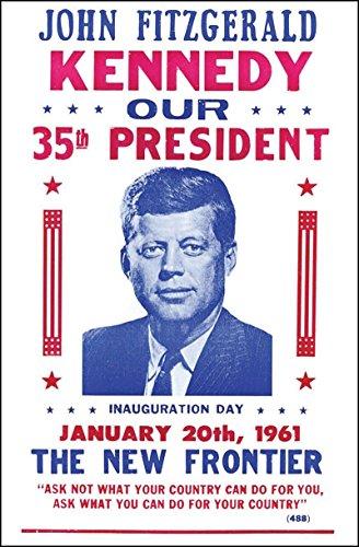 John F Kennedy Inauguration - JFK 14' x 22' Vintage Style Poster
