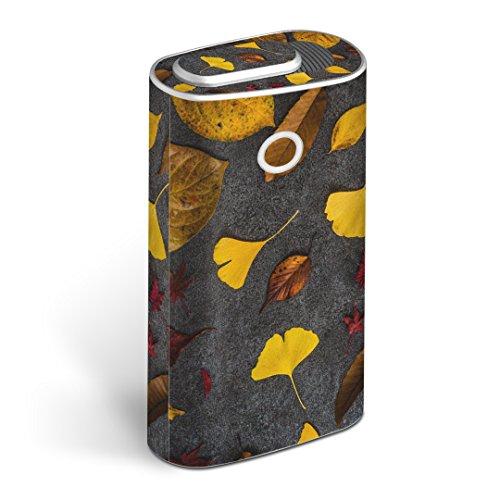 glo グロー グロウ 専用スキンシール 全面 + 天面 + 底面 360°フルセット カバー ケース 保護 フィルム ステッカー デコ アクセサリー 電子たばこ タバコ 煙草 デザイン 014832