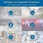 U-Kiss Protectores faciales Protectores faciales transparentes Protectores faciales protectores para... #6