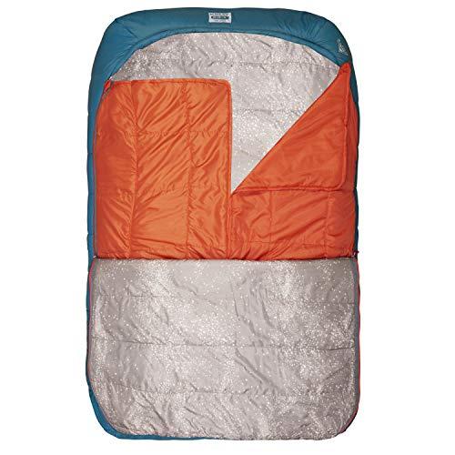 Kelty Tru.Comfort Doublewide 20 Degree Sleeping Bag – Two Person Synthetic Camping Sleeping Bag...