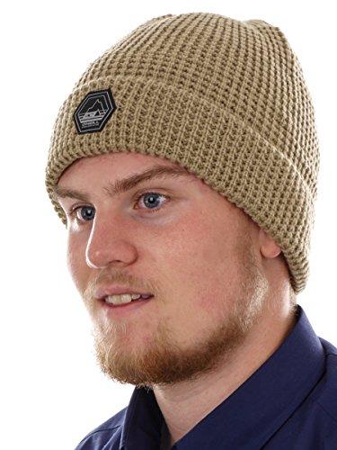 O\'Neill Beanie Strickmütze Wintermütze beige Jones reflektierend warm (one-Size)