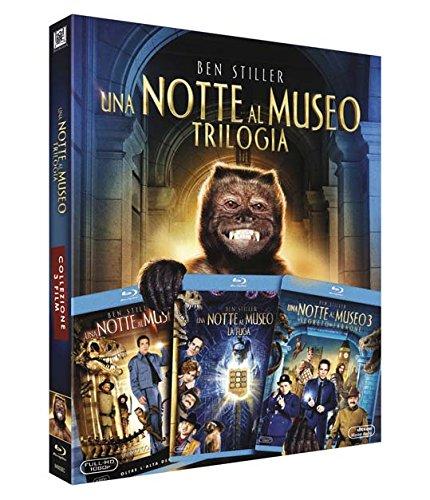 Una Notte Al Museo Trilogia (Box 3 Br)