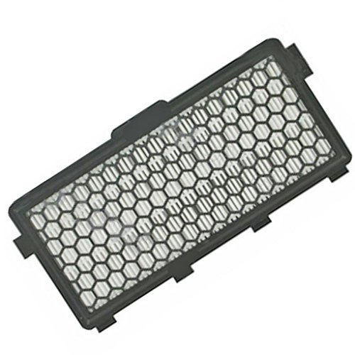 SPARES2GO SF-AH50 Air Clean Active HEPA-filter voor Miele Compact C2 Allergy EcoLine Plus, C2 Cat & Dog Powerline (zwart)