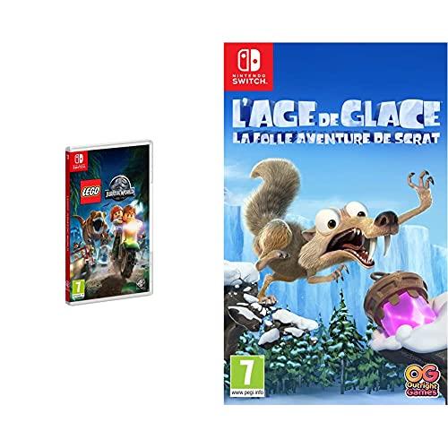 Lego Jurassic World & L'Âge de Glace : La Folle Aventure de Scrat pour Nintendo Switch