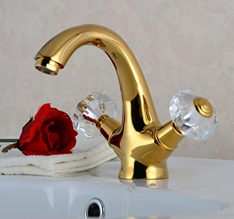 SHLONG Küchenarmatur Kupfer Küchenarmatur Wasserhahn einzigen Handgriff Waschbecken