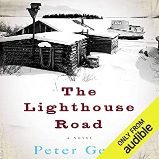 The Lighthouse Road audiobook cover art