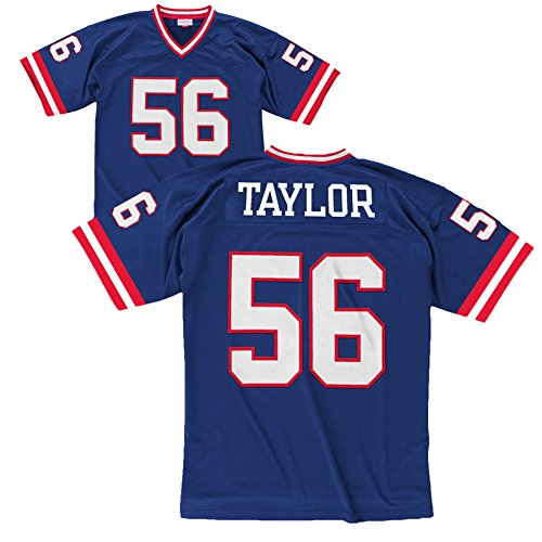 Mitchell & Ness Lawrence Taylor New York Giants Blue Throwback Jersey X-Large