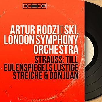Strauss: Till Eulenspiegels lustige Streiche & Don Juan (Mono Version)