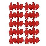 Gadpiparty Amor Rojo Corazón Favores del Banquete de Boda Cajas de Regalo Pequeño Primer Cumpleaños Fiesta de Bienvenida Al Bebé Dulces Envolver Cajas de Embalaje Suministros