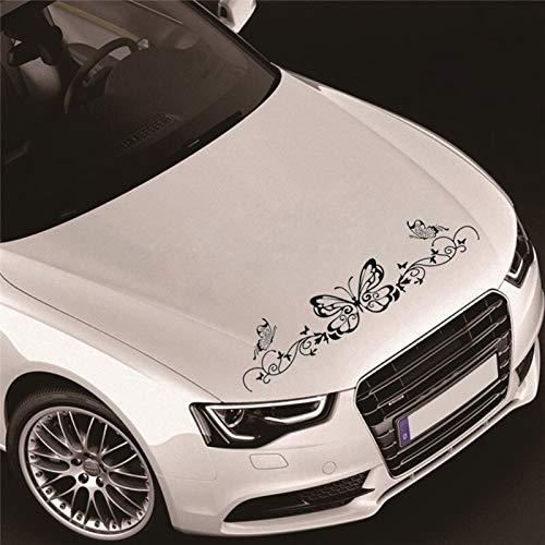 180cm x 40cm auto volledige Body Styling gemodificeerde voertuig Applique slinger muziek Score Opmerkingen Vlinder Stickers Decoratieve