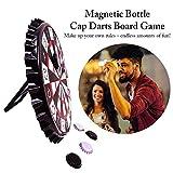 Explea Bier Kronkorken Dartscheibe Bierflasche Cap Form Darts Brettspiel Spielzeug Kronkorken Darts...