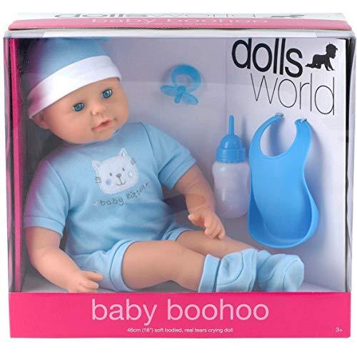 Dolls World – Baby Boohoo – Poupon 46 cm