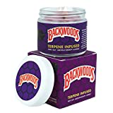 CandleBudz Backwoods Scented Candle - Wood and Masculine Terpene Profile - Rare Collectable All-Natural Long Burning Candles - 100% Soy Small Odor Mask Aromatherapy Candle Great for Earthy Room Decor