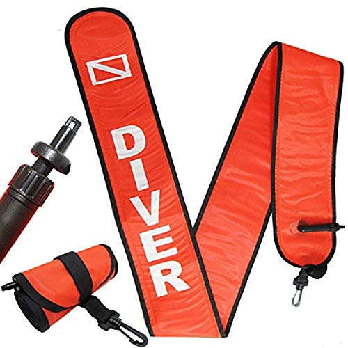 Scuba Choice Scuba Diving 6' Surface Marker Signal...