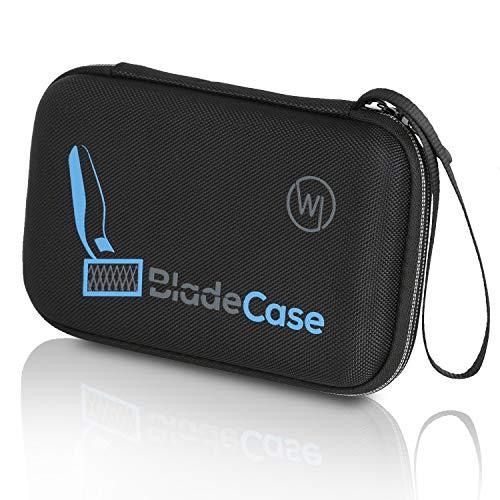 Wicked Chili Tasche kompatibel mit Phillips OneBlade - Schutzhülle für Rasierer, Aufsätze und Ersatzklingen, Trimmer - Reisetasche, Schutzhülle kompatibel mit OneBlade QP2530 und QP2 Series
