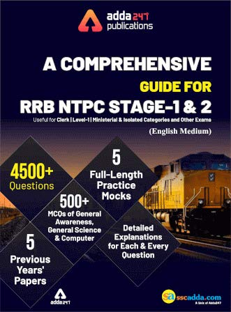 A Comprehensive Guide for RRB NTPC, Group D, ALP & Others Exams 2019 (English Printed Edition)