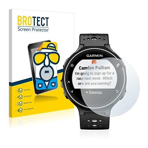BROTECT 2X Entspiegelungs-Schutzfolie kompatibel mit Garmin Forerunner 230 Bildschirmschutz-Folie Matt, Anti-Reflex, Anti-Fingerprint