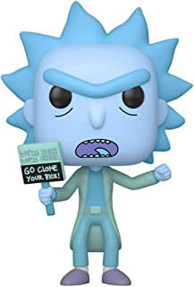 Funko Pop! Animation: Rick and Morty Hologram Rick Clone, Action Figure - 44252