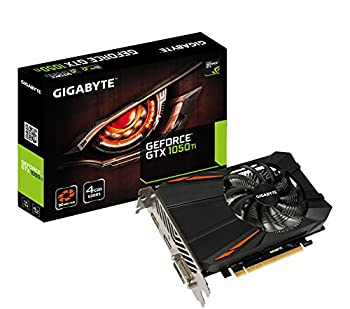 Gigabyte Geforce GTX 1050 Ti 4GB GDDR5 128 Bit PCI-E Graphic Card  GV-N105TD5-4GD