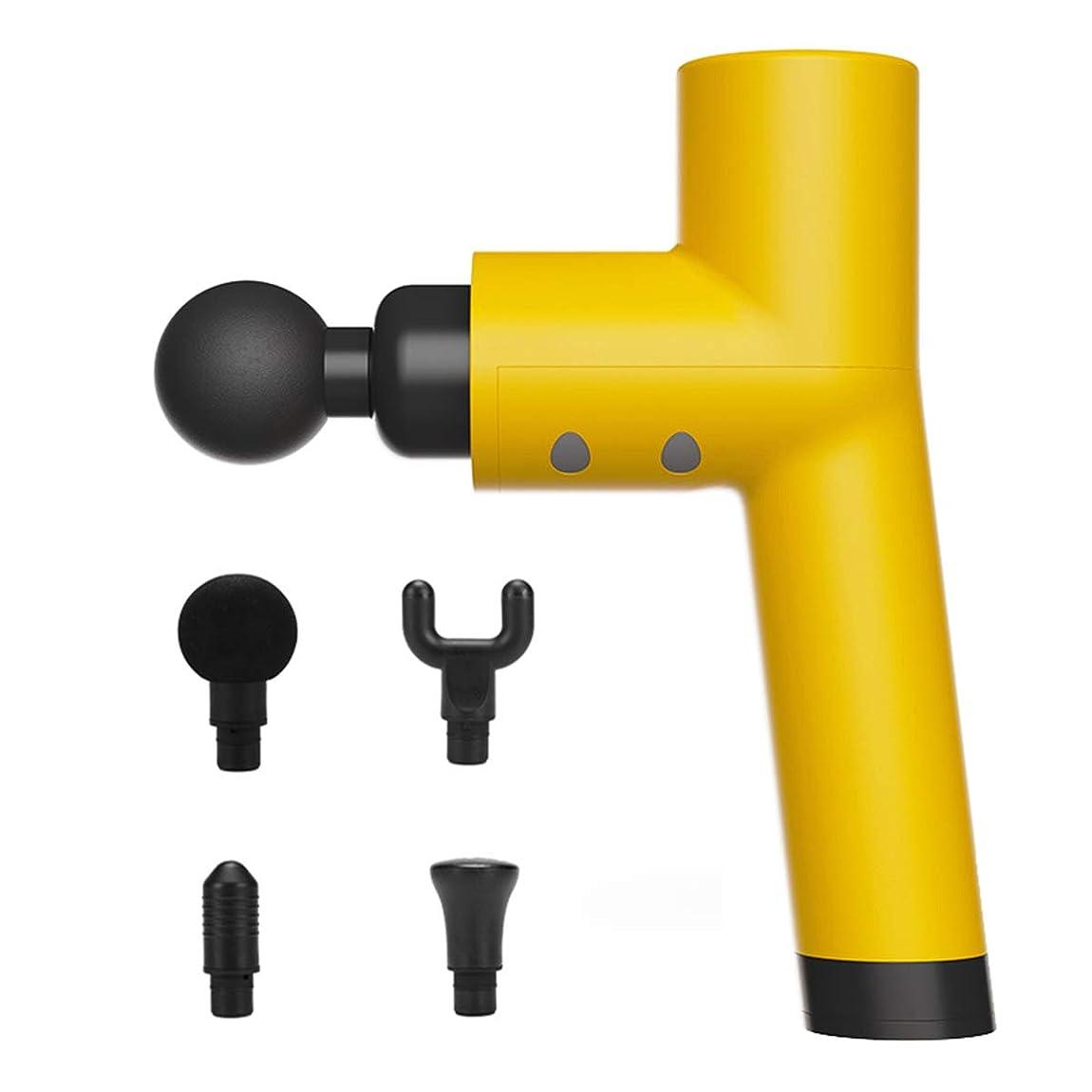摂氏度ウサギ蓮TMGG 筋肉マッサージ銃、4つの調節可能な速度の専門の手持ち型の振動マッサージャー装置、コードレス電気打楽器全身筋肉マッサージ装置