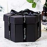 GoodFaith Surprise Explosion Box DIY Fotoalbum, Geschenk-Box DIY Fotoalbum Handgemachtes Scrapbooking para Valentinstag bodas Box cumpleaños sorpresa regalo