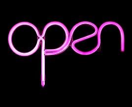 Best pink open sign Reviews
