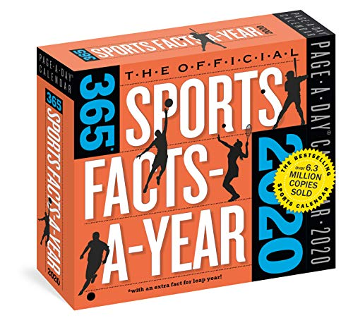 Workman Calendars: 2020 the Official 365 Sports Facts-A-Year