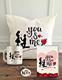 VALENTINE Cushion Cover is for Expressing love to your BOYFRIEND, GIRLFRIEND, LOVE, WIFE, HUSBAND, SPOUSE, FIANCE on Valentine's day, Anniversary, Birthday as Special Gifts. HAPPY BUYING: We at ALDIVO, always tend to deliver happiness :), if there is...
