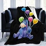 MaMing Acmiran Eeyore New Soft Micro Fleece Blanket Winter Quilt Home Lightweight Blanket Men Women 80'x60'