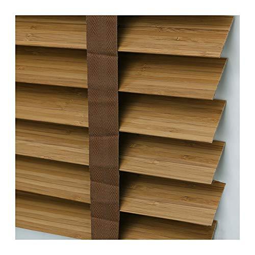 Xiao Jian Jaloezie van massief hout, bamboe, voor slaapkamer, kantoor, roller blind oogschaduw, 3 kleuren, multi-size