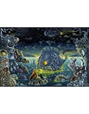 Take Pipe Boy Psychedelic Acid Lsd Painting Poster Silk Cloth Fabric Print Wall Pictures For Living Room Bedroom Decoration Z1320 50X70Cm